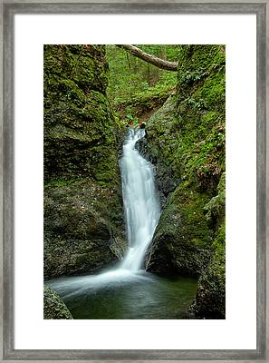 Indian Well Flows Framed Print by Karol Livote