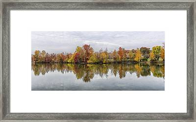 Indiana Autumn Framed Print by Alan Toepfer