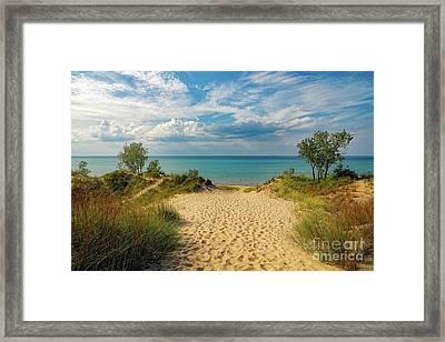 Indiana Dunes Framed Print