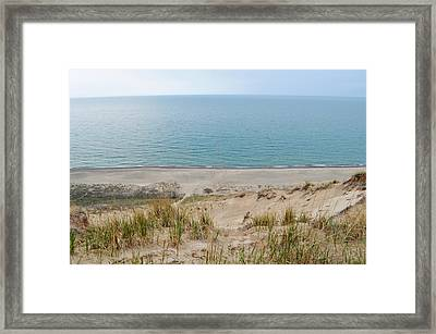 Indiana Dunes National Lakeshore Evening Framed Print