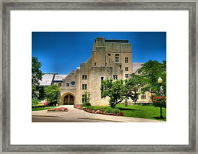 Indiana Memorial Union I Framed Print