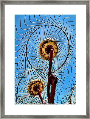 Indiana Sky Framed Print
