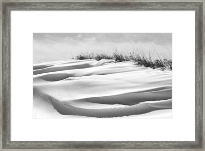 Indiana Snow Framed Print by Michael L Kimble