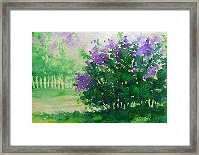 Indiana Spring Framed Print by Beverly Fagan Gilbertson