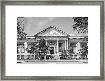 Indiana State University Fairbanks Hall Framed Print