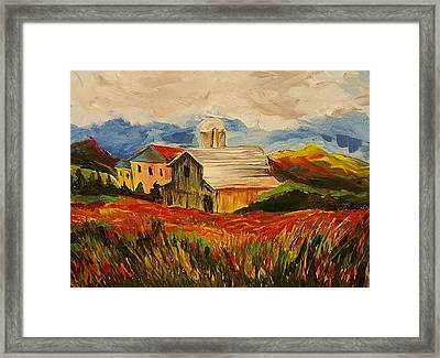 Indiana Two Framed Print