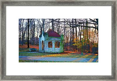 Indiana University Bloomington Old Campus Wellhouse Framed Print by Paul Price