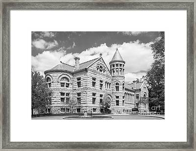 Indiana University Maxwell Hall Framed Print