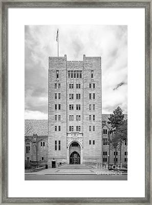 Indiana University Memorial Union Framed Print
