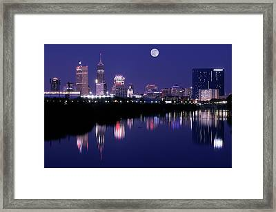 Indianapolis Framed Print by Frozen in Time Fine Art Photography