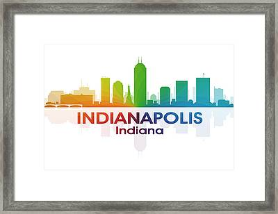 Indianapolis In Framed Print