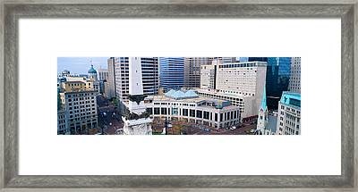 Indianapolis, Indiana Framed Print by Panoramic Images