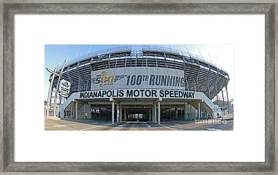 Indianapolis Motor Speedway Framed Print by Steve Gass