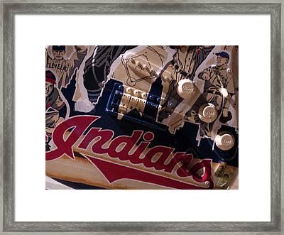 Indians Rock Framed Print