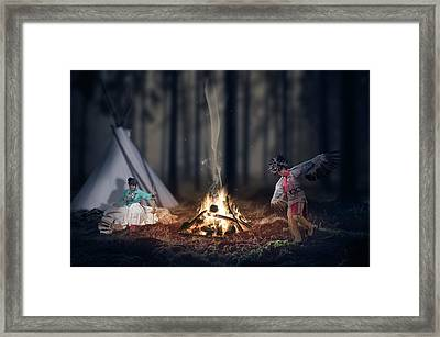 Indigenous Peoples Of The Americas Framed Print