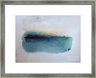 Indigo Blue Framed Print