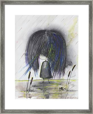 Indigo Child  Framed Print