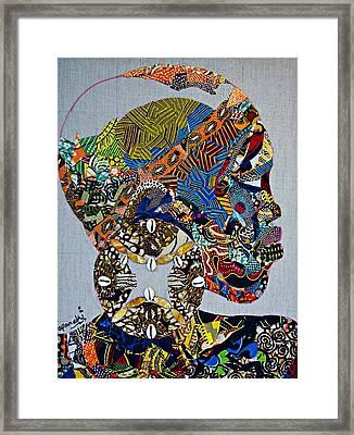 Indigo Crossing Framed Print