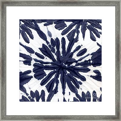 Indigo I Framed Print by Mindy Sommers