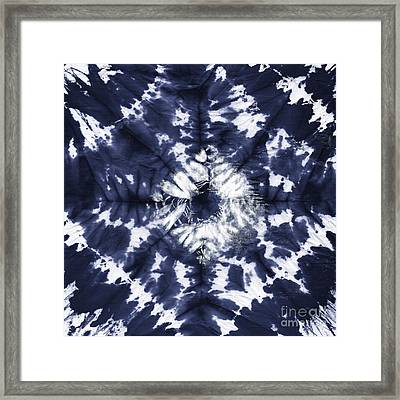 Indigo IIi Framed Print by Mindy Sommers