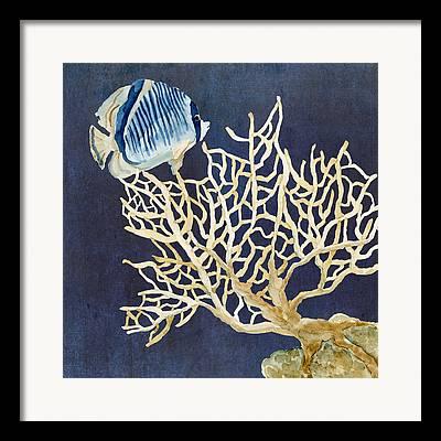 Fan Coral Framed Prints