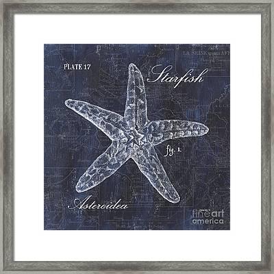 Indigo Verde Mar 4 Framed Print by Debbie DeWitt