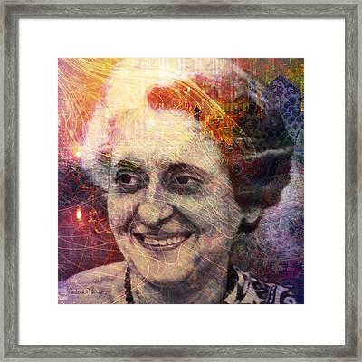 Indira Framed Print by Barbara Berney