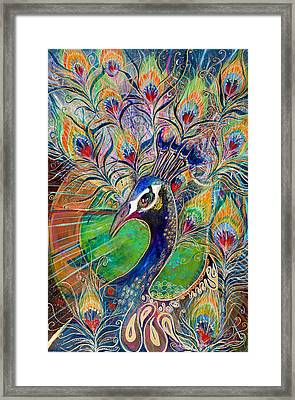 Confidence And Beauty- Individuality Framed Print by Leela Payne