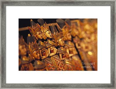Indonesian Dolls Framed Print by Dana Edmunds - Printscapes