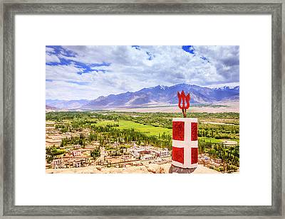 Framed Print featuring the photograph Indus Valley by Alexey Stiop