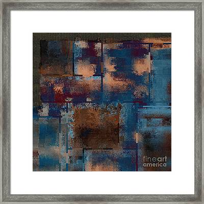 Industrial Abstract - 15t03 Framed Print