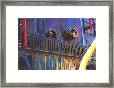 Industrial Brownhoist Photographic Impressions Framed Print