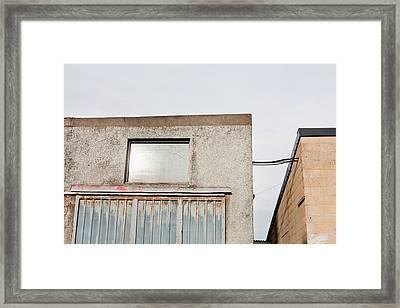 Industrial Buildings  Framed Print