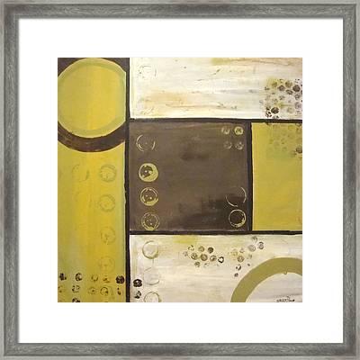 Industrial Circles No.2 Framed Print