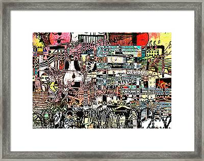 Industrial Complex 2 Framed Print by Andy  Mercer