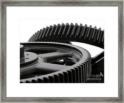 Industrial Concept Framed Print by Yali Shi