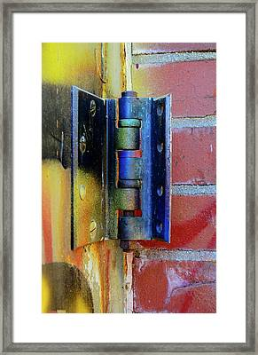 Framed Print featuring the photograph Industrial by Corinne Rhode