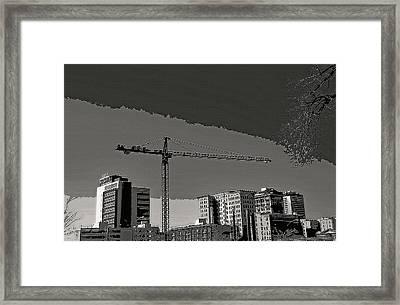Industrial Crane 1 Framed Print by Steve Ohlsen