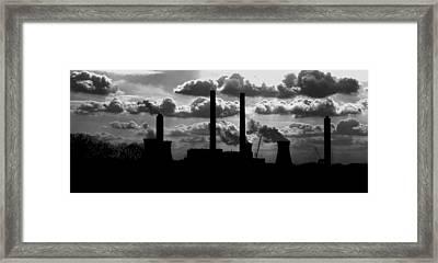 Industrial Night Framed Print