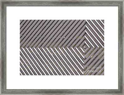 Industrial Diamonds Framed Print