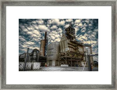 Industrial Disease Framed Print