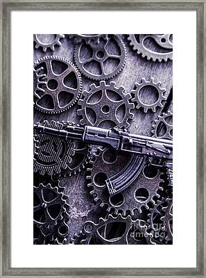 Industrial Firearms  Framed Print by Jorgo Photography - Wall Art Gallery