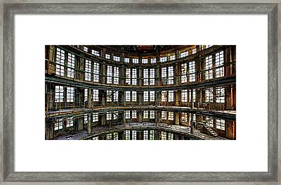 Framed Print featuring the photograph Industrial Heritage - Urban Exploration by Dirk Ercken