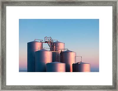 Industrial Hue Framed Print by Todd Klassy
