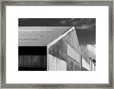 Industrial Island 01 Framed Print