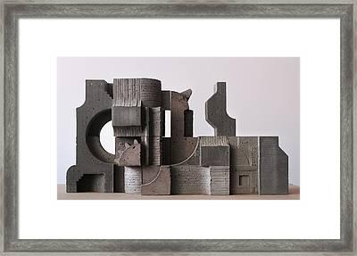 Industrial Landscape 1 Framed Print by David Umemoto