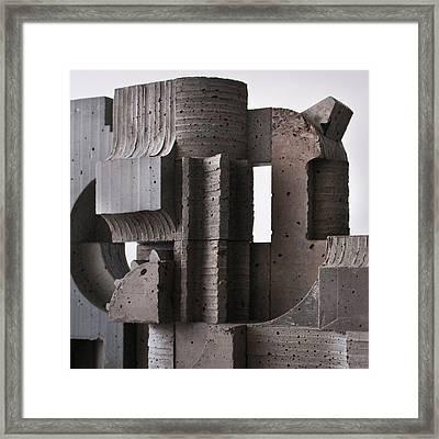 Industrial Landscape 2 Framed Print by David Umemoto