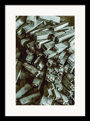 Journalist Photographs Framed Prints