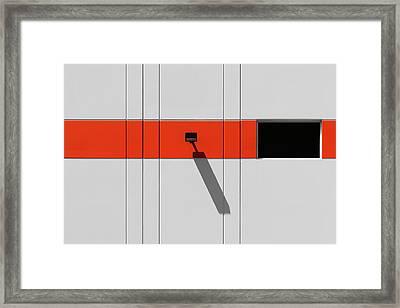 Industrial Minimalism 33 Framed Print