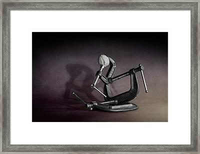 Industrial Nutcracker Framed Print